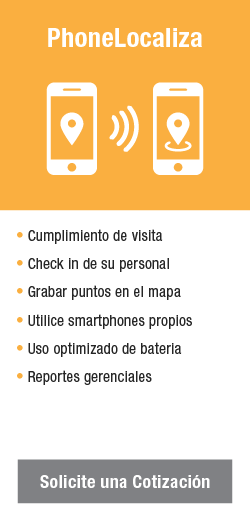 phone Cotizar Servicios de Gps